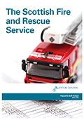 The Scottish Fire and Rescue Service report cover