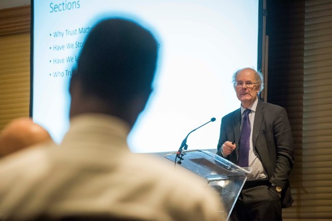 Curtice at Conference